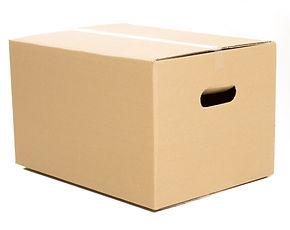karton pudło klapowe do przeprowadzki z uchwytami