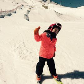 Première fois au snowpark