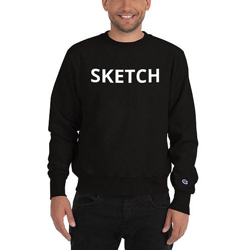 Designer Champion Sweatshirt by SKETCH