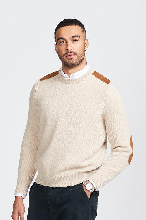 【男装】100%羊驼毛圆领上衣
