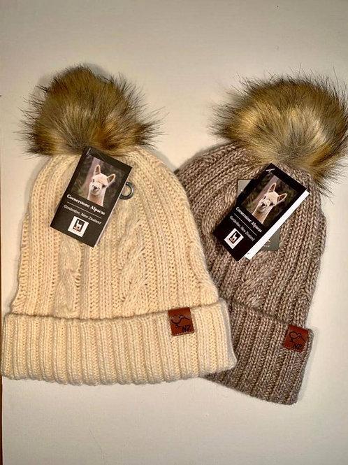 羊驼&羊毛针织帽