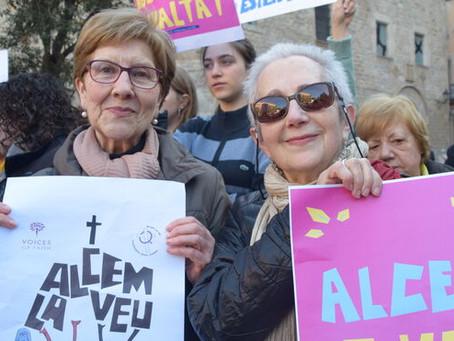 Mujeres cristianas se movilizarán en varias ciudades españolas para reclamar igualdad en la Iglesia
