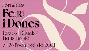 """Primera edició de les jornades """"Fe(r) i dones"""" organitzades per l'OAR i el Monestir de Pedralbes"""