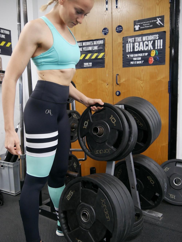 Octavia Activewear gym etiquette