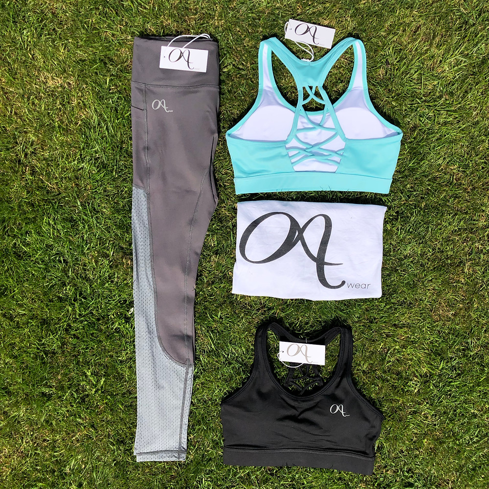 Octavia Activewear gym leggings with pockets