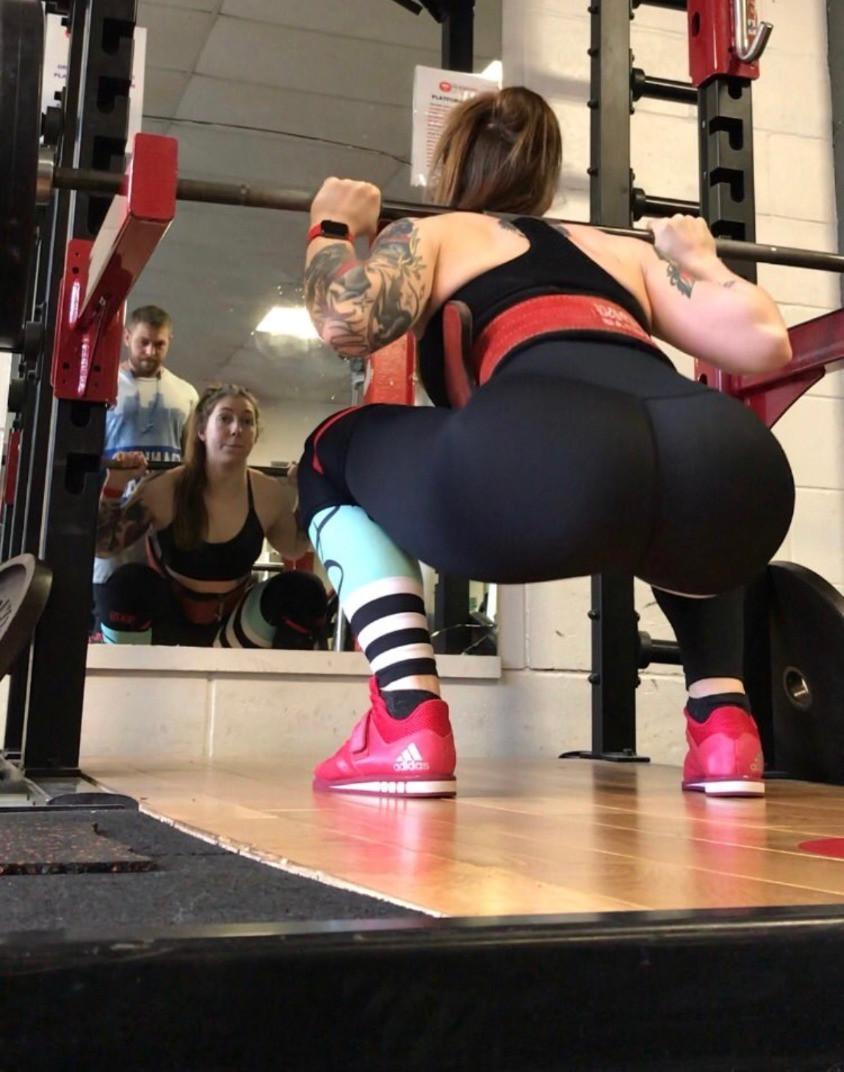 Squat proof gym leggings Octavia Activewear