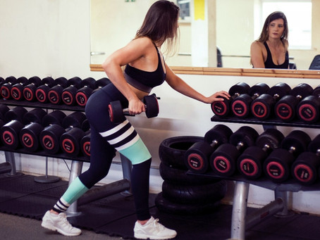 Get to know us: Why we LOVE lifting weights.