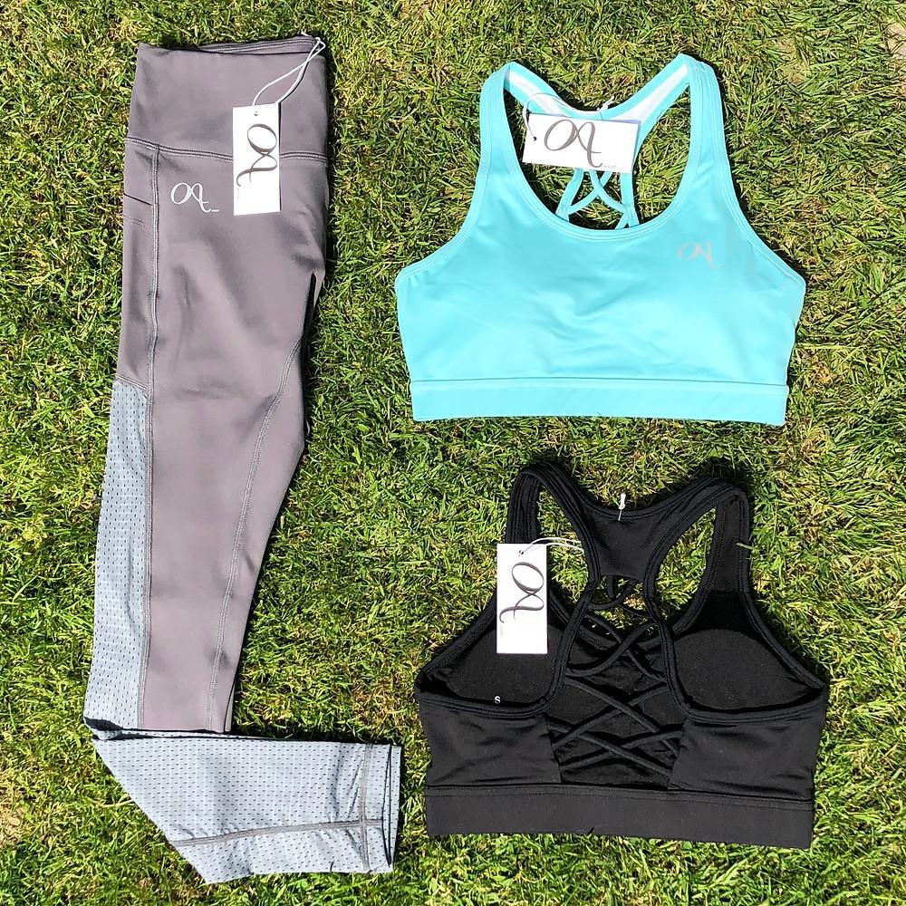 Cross back sports bra Octavia Activewear