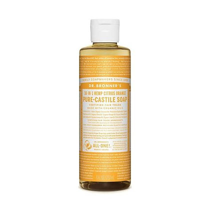Dr Bronner's Castile Hemp Citrus Soap 237ml