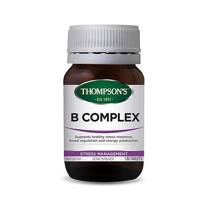 Thompsons B Complex 100 Tablets