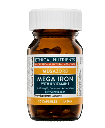 Ethical Nutrients Mega Iron 30 Capsules