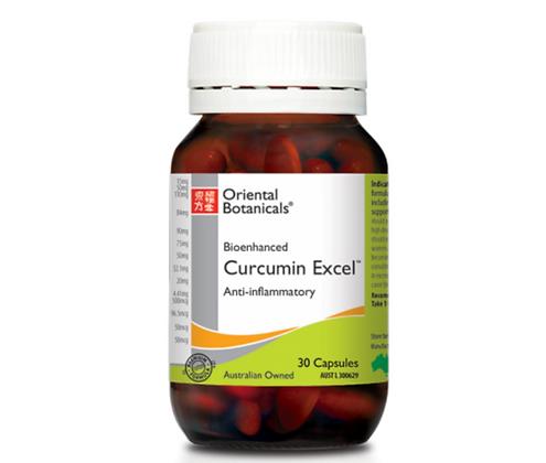 Oriental Botanicals Curcumin Excel 30 Capsules