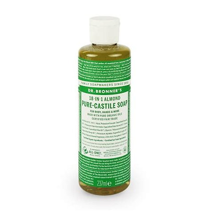 Dr Bronner's Castile Almond Soap 237ml