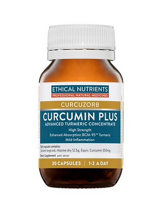 Ethical Nutrients Curcumin Plus 30 Capsules