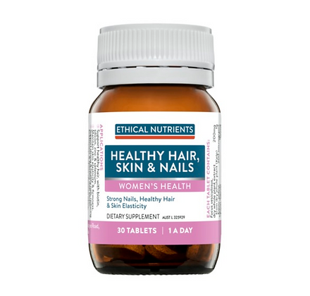 Ethical Nutrients Hair Skin and Nails 30 Tablets