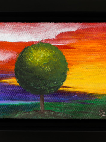 LGBTQ baby Tree painting (LGBTQ4 Flag)