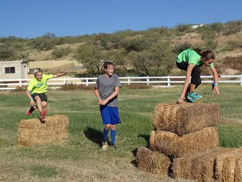 Rise Ranch Challenge - Hay Bales
