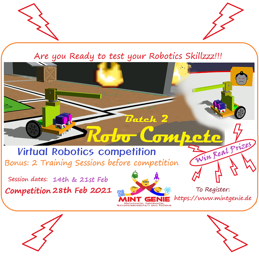 Robo Compete - Batch 2