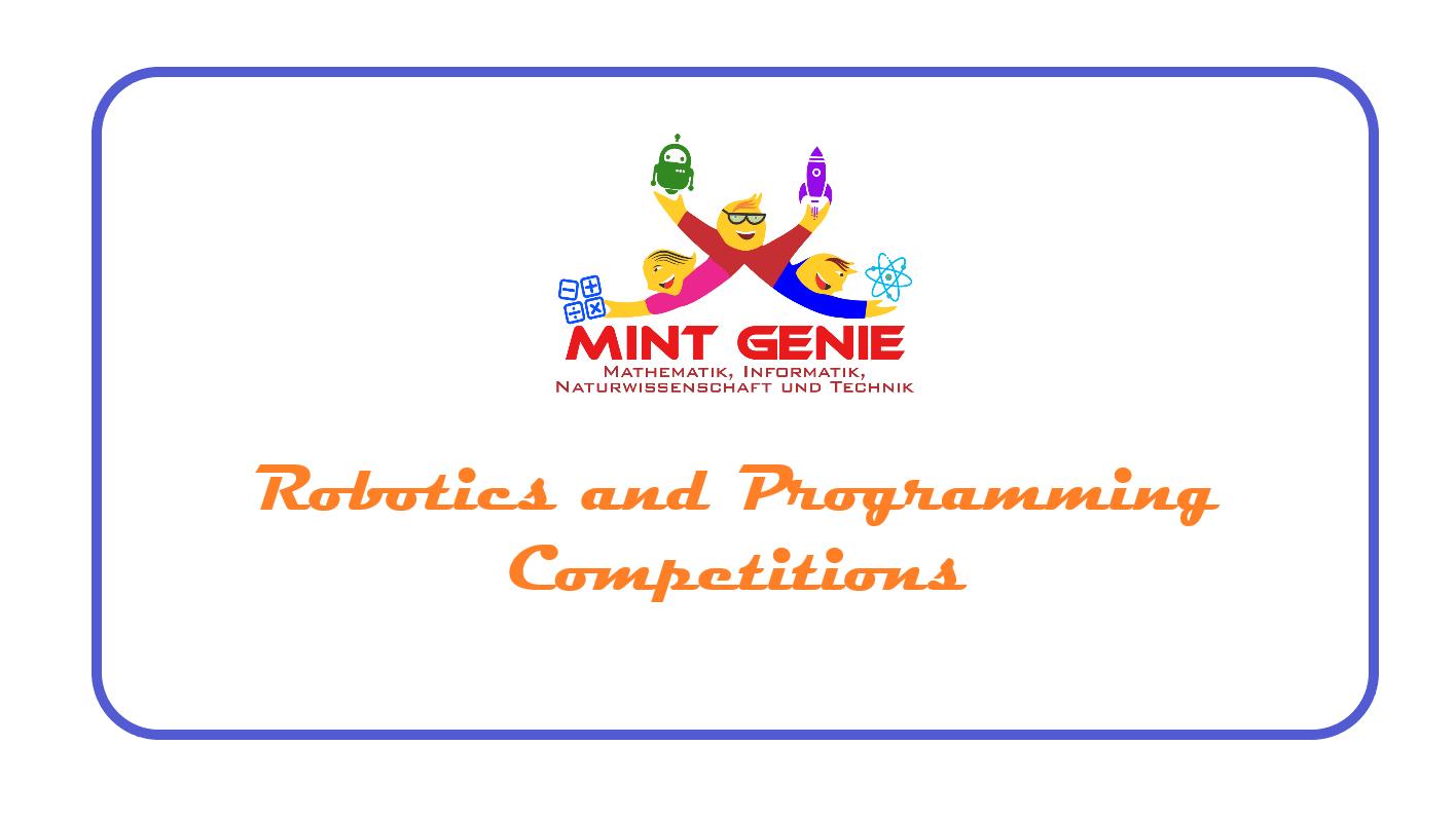 COMPETITIONS - Robotics & Programming