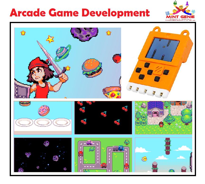 Entwicklung von Arcade-Spielen (Deutsch)
