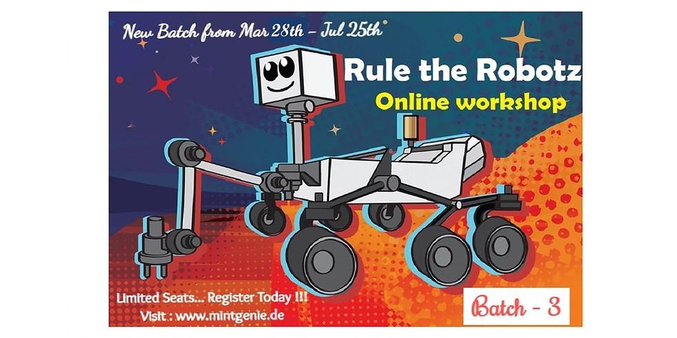 B3 - Rule the Robotz Sr. (11-14yr)