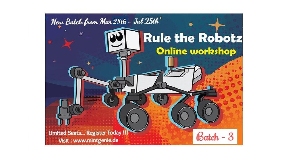 B3 - Rule the Robotz