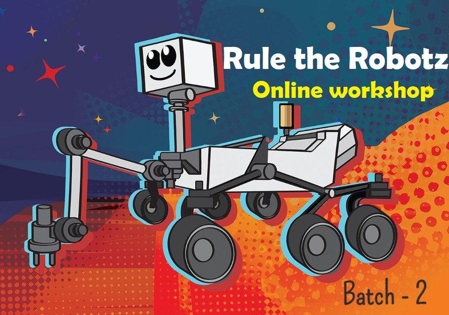 B2 - Rule the Robotz - Full Course (11-14 yr)