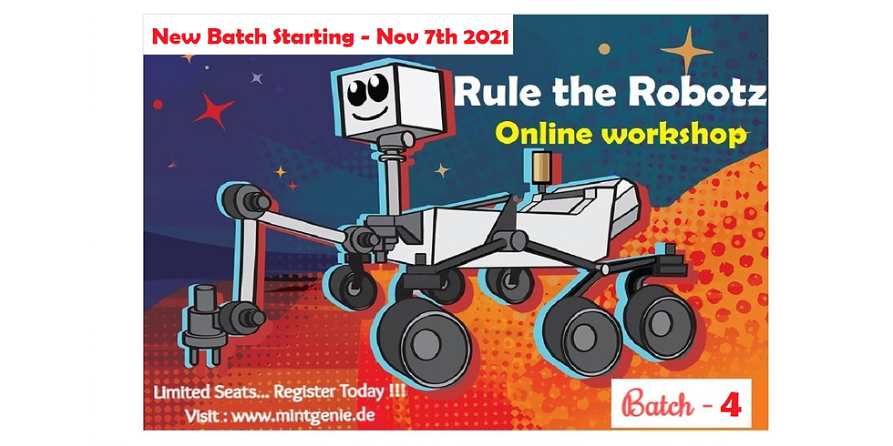 B4 - Rule the Robotz (8-10 yr)