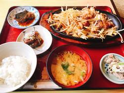 生姜焼き定食 完