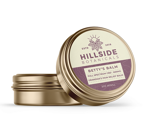 WS-Betty's Balm 600mg Pain Relief Balm