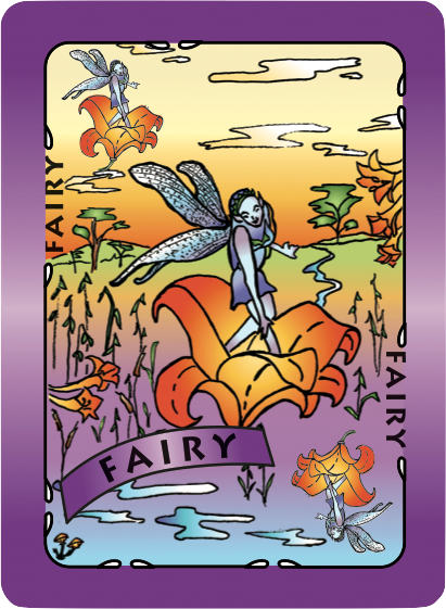 Fairy Card Poster