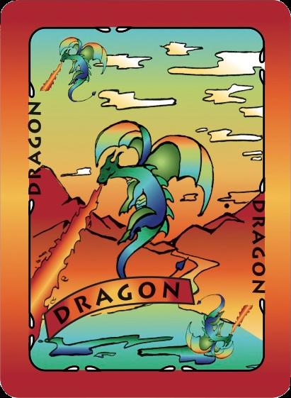 Dragon Card Poster