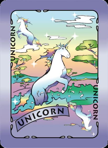 Unicorn Card Poster