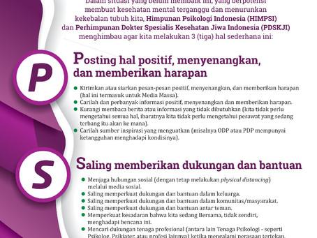 Himbauan dari Himpunan Psikologi Indonesia untuk Masyarakat Indonesia