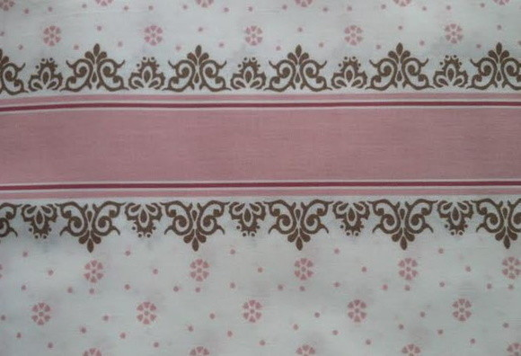Barrado rosa antique