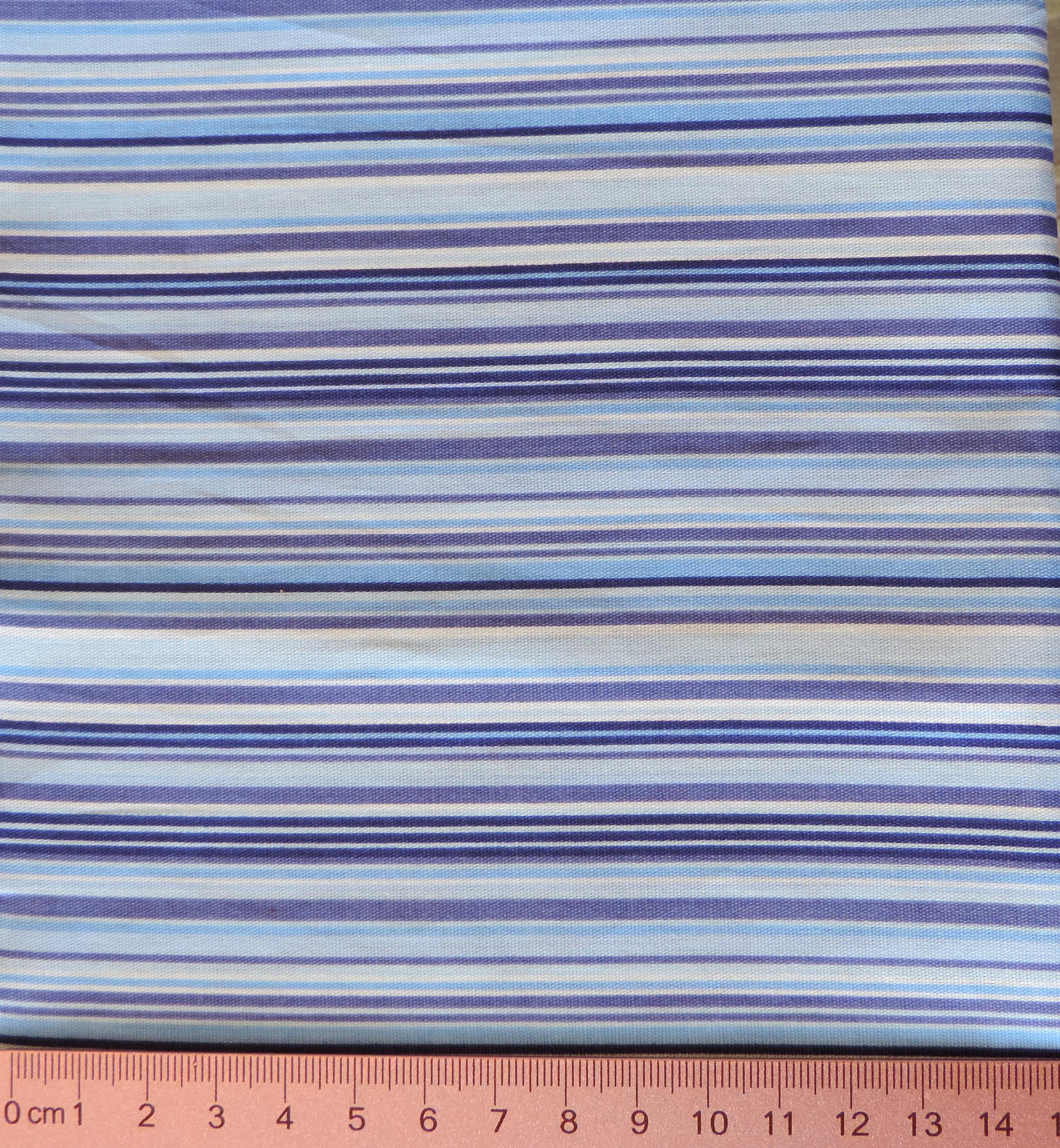 Listras azuis - tons variados