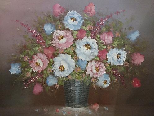 "24""x36"" Flower with vase"