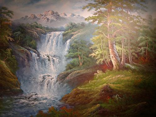 """48""""x72"""" Waterfall"""