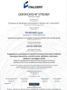 UNI EN ISO 45001