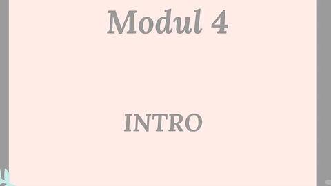 Intro v Modul 4