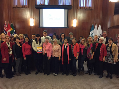Vancouver: a city for all women! Vancouver's Women Equity Strategy is unanimously approved!