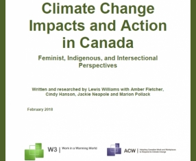 Reading List -  Woman and Climate Change: Impacts and Action in Canada
