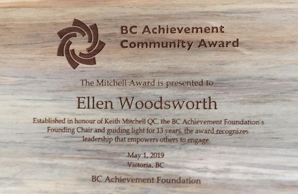 Congratulations Ellen!