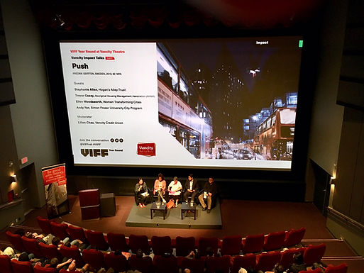 WTC Panelist notes for VIFF PUSH screening of film on global housing & homelessness