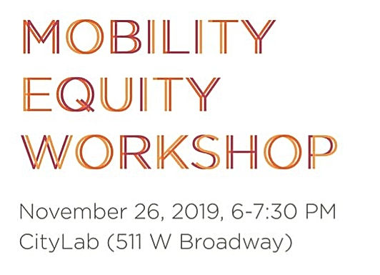 Mobility Equity Workshop for the Redesign of the Granville Bridge