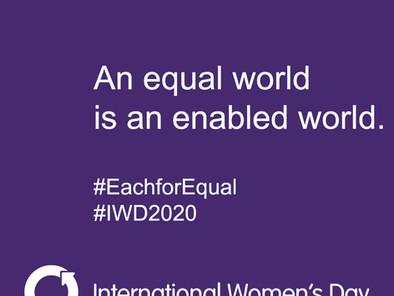 March 8th - International Women's Day!