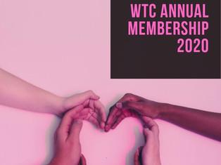Reminder to Renew Annual Membership!