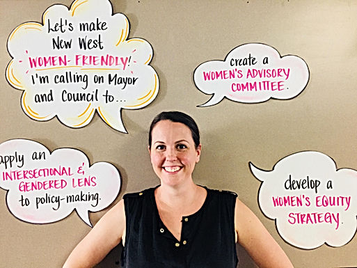 Building a more Women-Friendly New Westminster