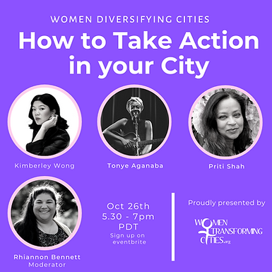 WTC webinar - How To Take Action In Your City