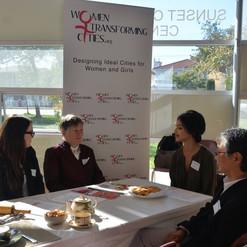 Photo of WTC at PCHS discussion tea .jpe